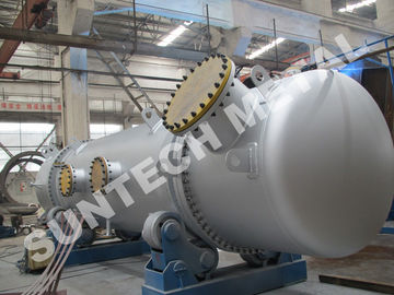 Trung Quốc 316L Double Tube Sheet Heat Exchanger for Chemical Processing Plant nhà phân phối