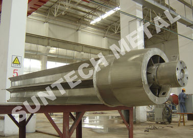 Trung Quốc Alloy 20 Clad Wiped Thin Film Evaporator for Chemical Processing nhà phân phối